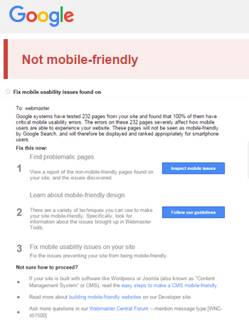 How to Fix Google Usability Issues Using Mobile Friendly & Responsive Web Design