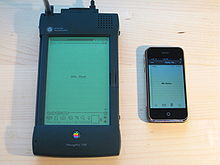 220px Apple Newton and iPhone