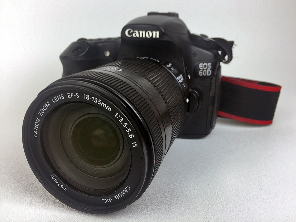 Camera Canon 60d (one camera owned by AdverGroup web design, photo of camera shot using iPhone 6)