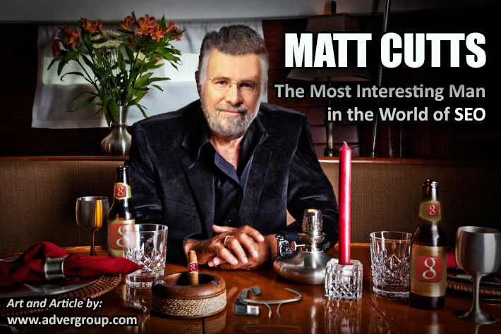 matt cutts is the most interesting man in the world of seo