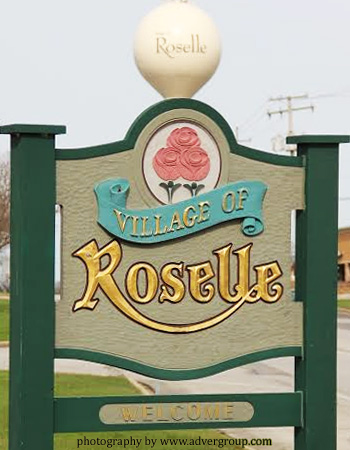 Roselle, IL 60172 Village Sign (Photography by Local Web Designer)