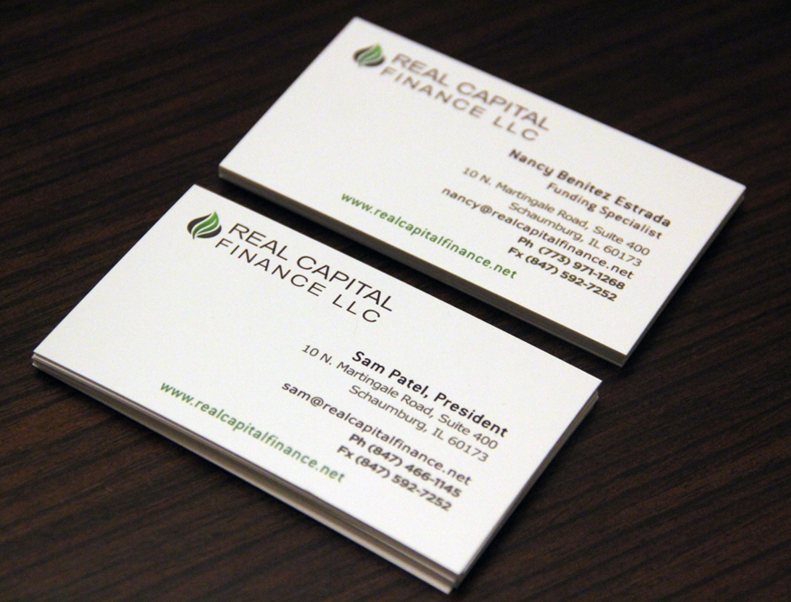 Business Cards Match Website Design in Schaumburg, IL