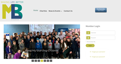 Website Design for local Charity in Glenview IL 60026