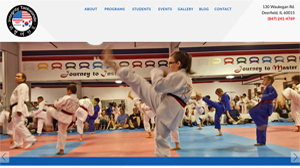 Web design in Deerfield, IL 60015 for integrity Taekwondo