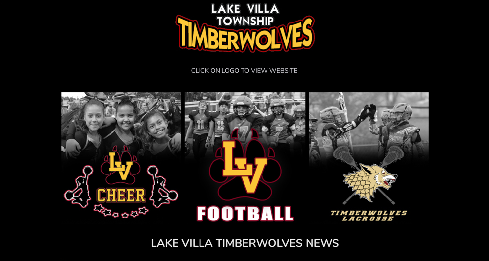 Sports Team Web Design Lake Villa