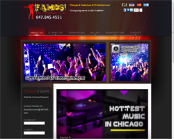 Local Web Design client in Northbrook, IL 60062 GET FAMOS