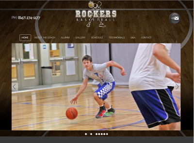 website design Rockers ELK GROVE 400